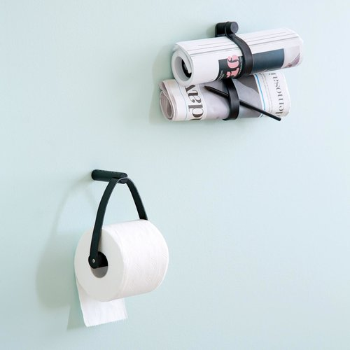 By Wirth Toiletpapierhouder zwarte eik