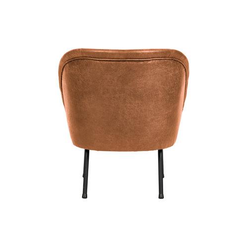 BePureHome Vogue fauteuil leer cognac
