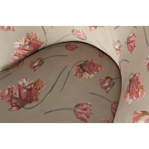 BePureHome Vogue fauteuil fluweel rococo agave