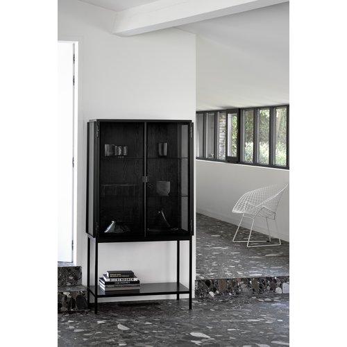 Ethnicraft Anders vitrinekast 2 deuren 160 cm