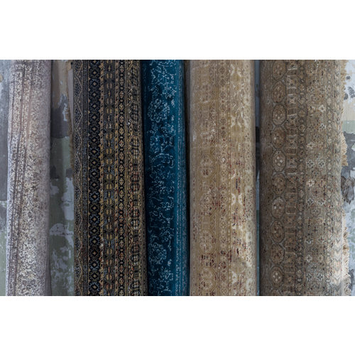 Dutchbone Rugged tapijt ocean
