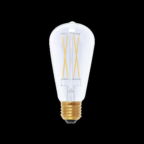 Segula LED Gloeilamp Rustica klaar 470lm E27 6W