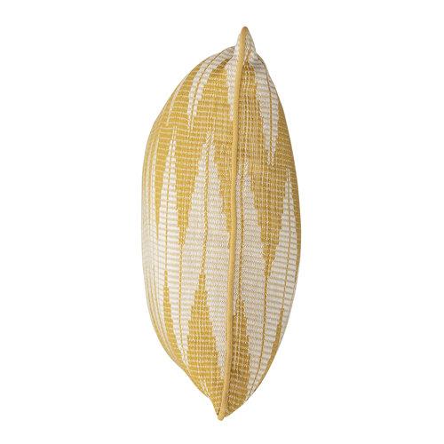 Bloomingville Kussen geel katoen