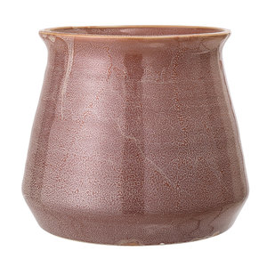 Bloomingville Bloempot bruin aardewerk Ø19,5