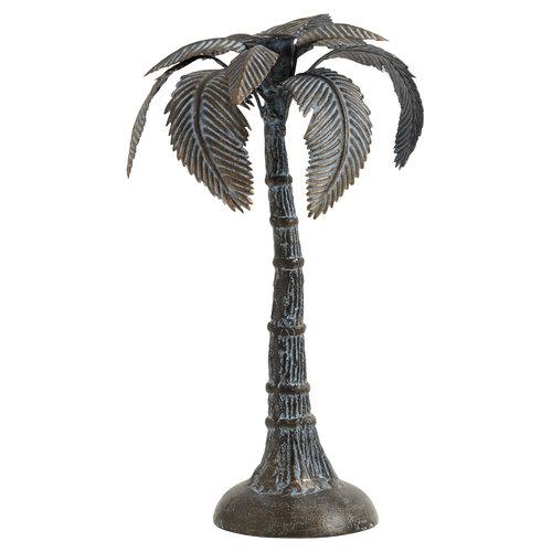 nordal Palmboom kaarshouder gietijzer