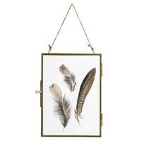 Metalen fotolijst hangend goud small