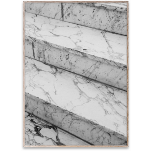 Paper Collective Marble steps poster 50 x 70 cm
