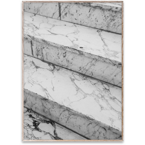 Paper Collective Marble steps poster 50x70