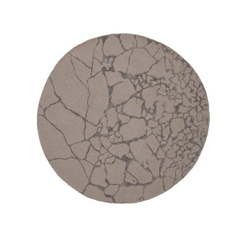 Linie Design Marmo rond tapijt stone Ø 250