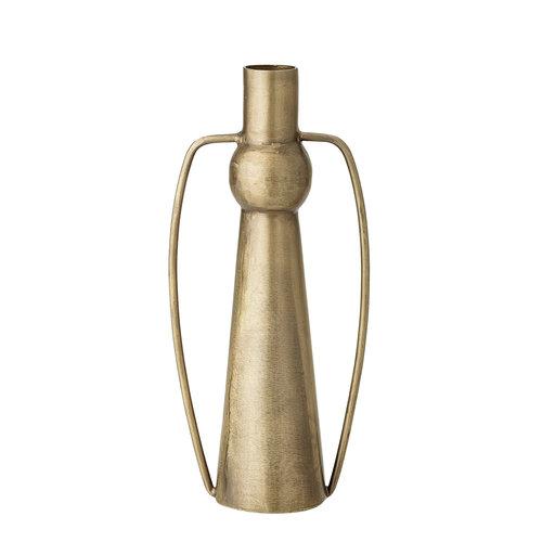Bloomingville Vaas goudkleurig metaal h 20 cm