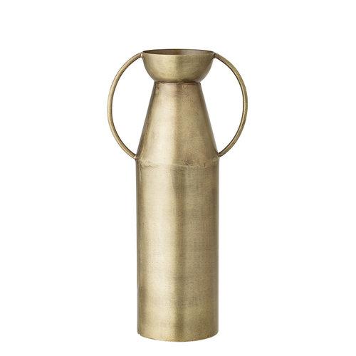 Bloomingville Vaas goudkleurig metaal h 24 cm