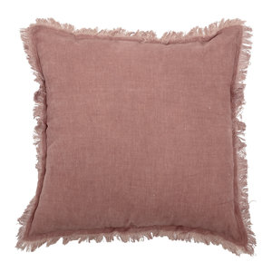 Bloomingville Kussen roze katoen 45 x 45