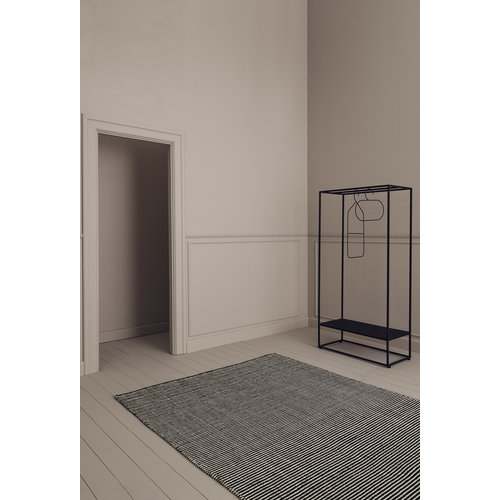 Linie Design Ajo tapijt donkerblauw