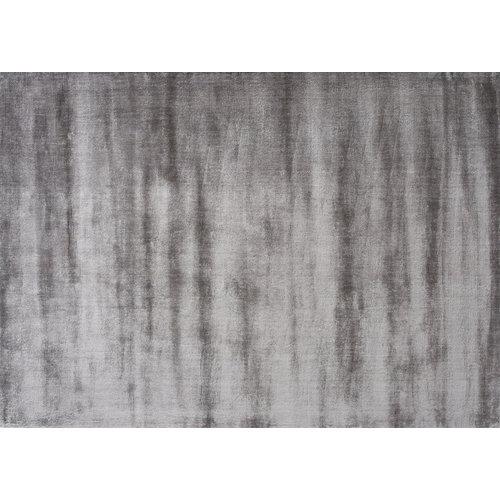 Linie Design Lucens rond of rechthoekig tapijt grijs