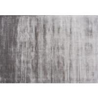 Lucens rond en rechthoekig tapijt zilver