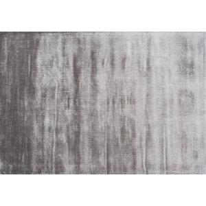 Linie Design Lucens rond en rechthoekig tapijt zilver