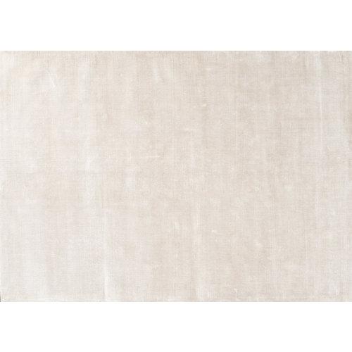 Linie Design Lucens rond en rechthoekig tapijt wit