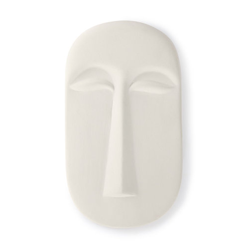 HK Living Masker wanddecoratie wit