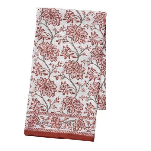 Bungalow Chaaya rood tafelkleed 150 x 250 cm