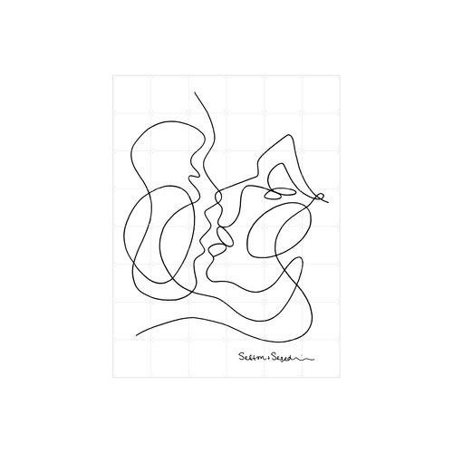 IXXI IXXI Wanddecoratie - The Kissing