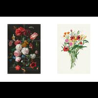 IXXI Wanddecoratie Gift - Flower Power 40x60cm