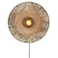 Kalimantan wandlamp Ø 85 x H 20