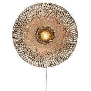 Good & Mojo Kalimantan wandlamp Ø 85 x H 20