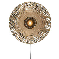 Kalimantan wandlamp Ø 60 x H 15