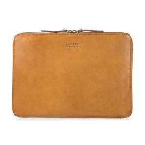 "O My Bag Laptophoes ""13 met rits eco classic cognac"
