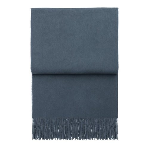 Elvang Classic plaid midnight blue 130 x 200