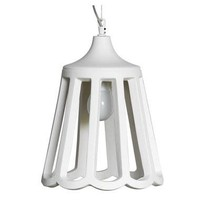Le pupette hanglamp keramiek wit