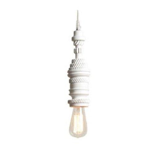 Karman Mek3 hanglamp keramiek wit