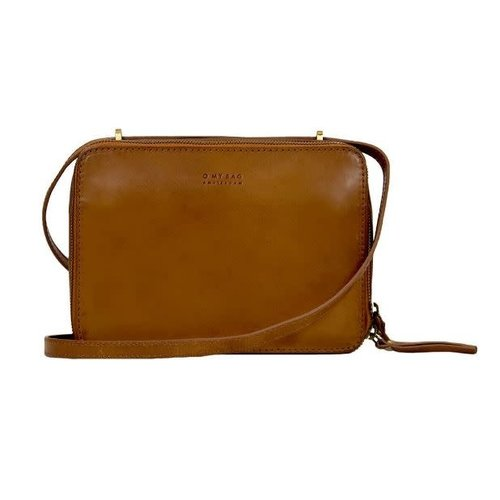 O My Bag Bee's Box classic leather cognac