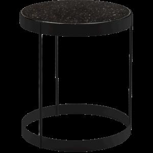 Bolia Drum bijzettafel zwart kwarts 40 cm