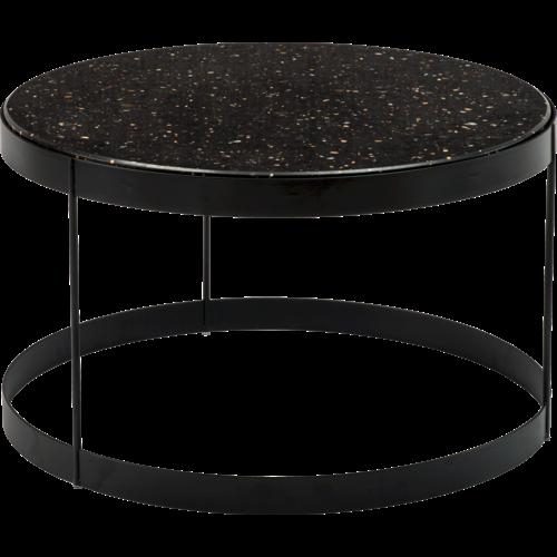 Bolia Drum bijzettafel zwart kwarts 60 cm