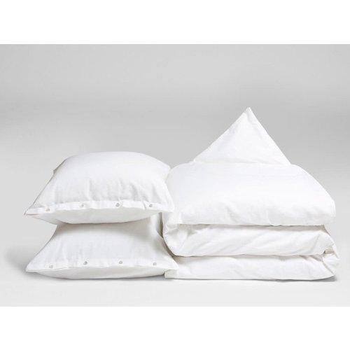 Yumeko Dekbedovertrek pure white velvet flanel