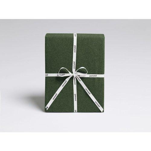 Yumeko Dekbedovertrek moss green velvet flanel