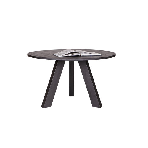 WOOOD Rhonda eettafel eik blacknight ø129 cm