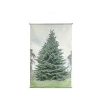 kerstboom wandkaart large
