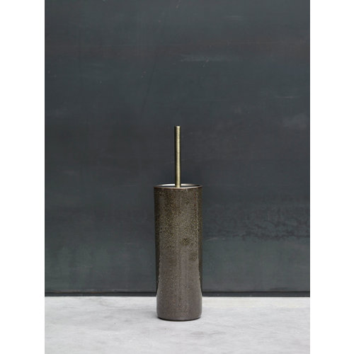 Aquanova Ugo toiletborstelhouder vintage brons