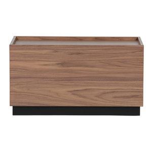 vtwonen Block bijzettafel grenen/walnoot 40 x 82