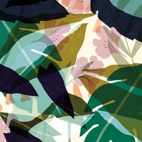 IXXI wanddecoratie - Leaves