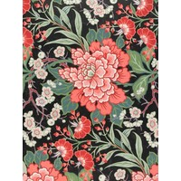IXXI wanddecoratie - Textile design with flowers