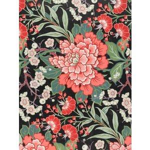IXXI IXXI wanddecoratie - Textile design with flowers