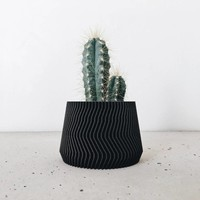 Savanne bloempot zwart Ø 5,5 cm