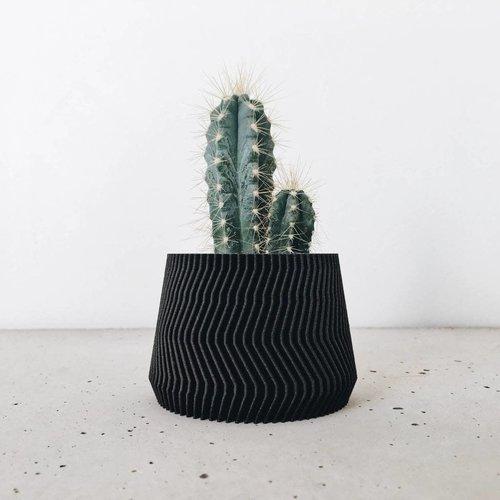 Minimum Design Savanne bloempot zwart Ø 5,5 cm