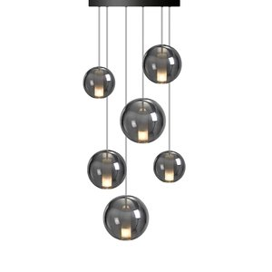 Nud Collection MOON Chandelier Space - Thin gold crown