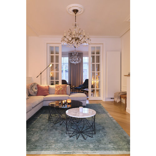 Louis De Poortere Rugs Medallion jade tapijt Fading World Collection
