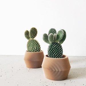 Minimum Design Dissipat bloempot natuur Ø 5,5 cm