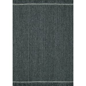 Linie Design Elmo tapijt donker grijs